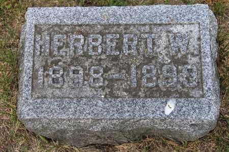 SORTER, HERBERT - Branch County, Michigan | HERBERT SORTER - Michigan Gravestone Photos