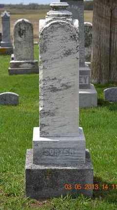 SORTER, HANNAH - Branch County, Michigan | HANNAH SORTER - Michigan Gravestone Photos