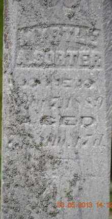 SORTER, MYRTLE A. - Branch County, Michigan | MYRTLE A. SORTER - Michigan Gravestone Photos