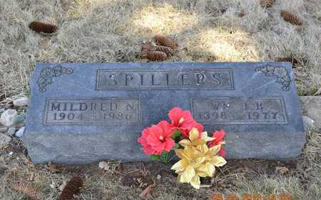 SPILLERS, MILDRED N. - Branch County, Michigan | MILDRED N. SPILLERS - Michigan Gravestone Photos