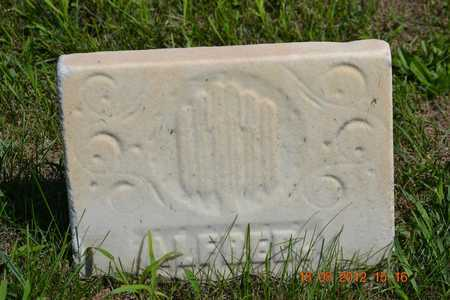 SPRAGUE, ALFRED - Branch County, Michigan   ALFRED SPRAGUE - Michigan Gravestone Photos