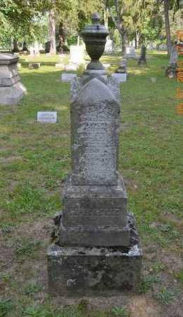 SPRAGUE, FAMILY - Branch County, Michigan   FAMILY SPRAGUE - Michigan Gravestone Photos