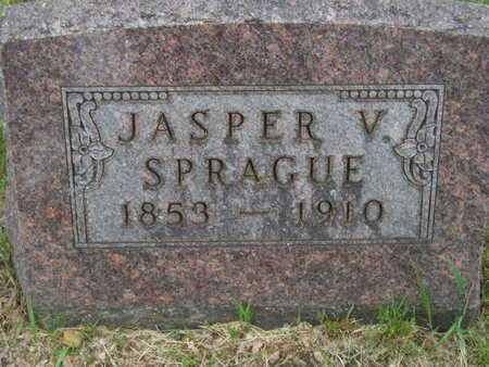 SPRAGUE, JASPER V. - Branch County, Michigan | JASPER V. SPRAGUE - Michigan Gravestone Photos