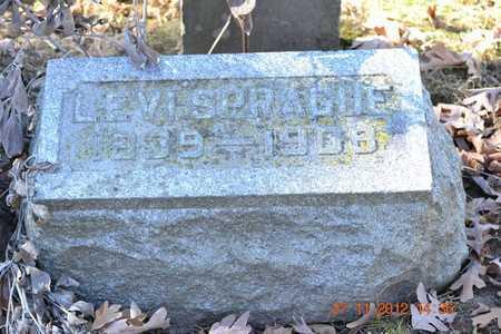 SPRAGUE, LEVI - Branch County, Michigan | LEVI SPRAGUE - Michigan Gravestone Photos