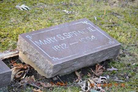 SPRAGUE, MARY S. - Branch County, Michigan | MARY S. SPRAGUE - Michigan Gravestone Photos