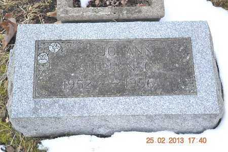 STEPHENSON, JO ANN - Branch County, Michigan | JO ANN STEPHENSON - Michigan Gravestone Photos