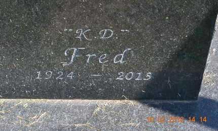 "STEVENS, FRED ""K.D."" - Branch County, Michigan   FRED ""K.D."" STEVENS - Michigan Gravestone Photos"