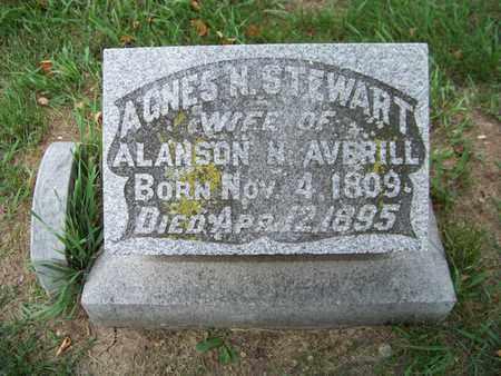 STEWART, AGNES - Branch County, Michigan | AGNES STEWART - Michigan Gravestone Photos