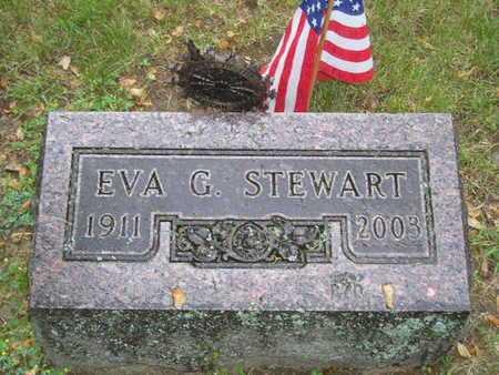 STEWART, EVA G. - Branch County, Michigan | EVA G. STEWART - Michigan Gravestone Photos