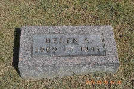 STEWART, HELEN A. - Branch County, Michigan   HELEN A. STEWART - Michigan Gravestone Photos