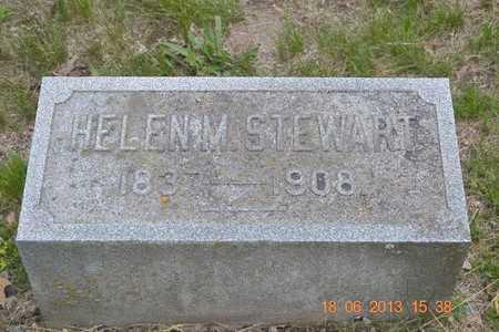 STEWART, HELEN M. - Branch County, Michigan | HELEN M. STEWART - Michigan Gravestone Photos