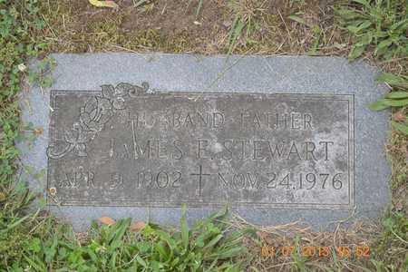 STEWART, JAMES E. - Branch County, Michigan | JAMES E. STEWART - Michigan Gravestone Photos