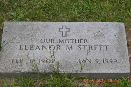 STREET, ELEANOR M. - Branch County, Michigan | ELEANOR M. STREET - Michigan Gravestone Photos