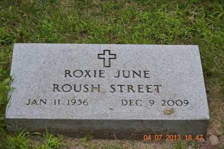 STREET, ROXIE JUNE - Branch County, Michigan | ROXIE JUNE STREET - Michigan Gravestone Photos