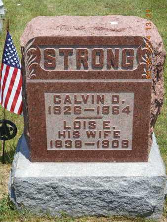 STRONG, CALVIN D. - Branch County, Michigan | CALVIN D. STRONG - Michigan Gravestone Photos
