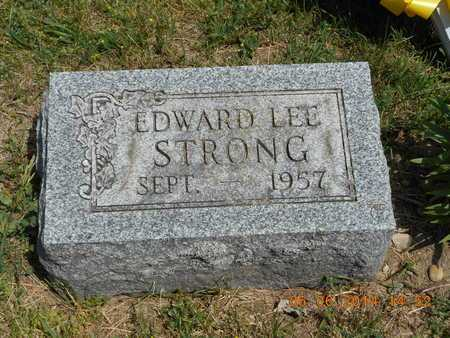 STRONG, EDWARD LEE - Branch County, Michigan | EDWARD LEE STRONG - Michigan Gravestone Photos