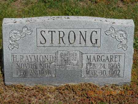STRONG, MARGARET - Branch County, Michigan | MARGARET STRONG - Michigan Gravestone Photos