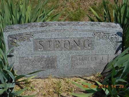 STRONG, HARLEY J. - Branch County, Michigan | HARLEY J. STRONG - Michigan Gravestone Photos