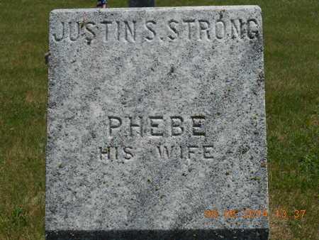 STRONG, JUSTIN S. - Branch County, Michigan | JUSTIN S. STRONG - Michigan Gravestone Photos
