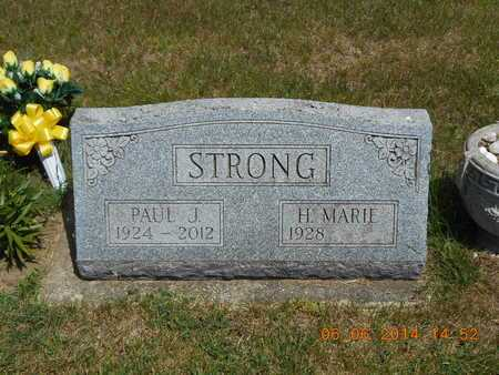 STRONG, H. MARIE - Branch County, Michigan | H. MARIE STRONG - Michigan Gravestone Photos