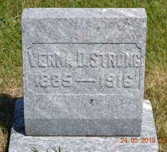 STRONG, VERNA D. - Branch County, Michigan | VERNA D. STRONG - Michigan Gravestone Photos
