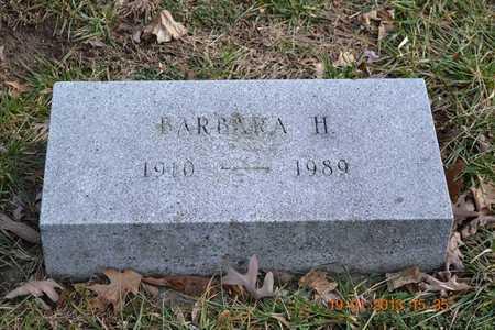 STUKEY, BARBARA H. - Branch County, Michigan | BARBARA H. STUKEY - Michigan Gravestone Photos