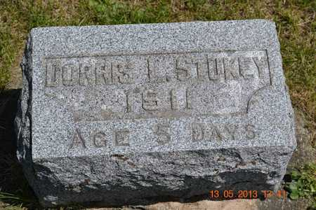 STUKEY, DORIS L. - Branch County, Michigan | DORIS L. STUKEY - Michigan Gravestone Photos