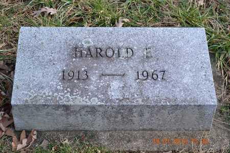 STUKEY, HAROLD F. - Branch County, Michigan | HAROLD F. STUKEY - Michigan Gravestone Photos