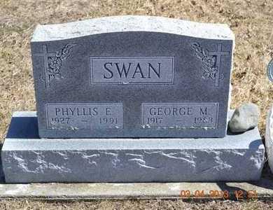 SWAN, GEORGE M. - Branch County, Michigan | GEORGE M. SWAN - Michigan Gravestone Photos