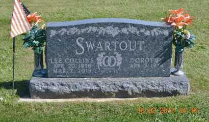 SWARTOUT, LEE COLLINS - Branch County, Michigan | LEE COLLINS SWARTOUT - Michigan Gravestone Photos