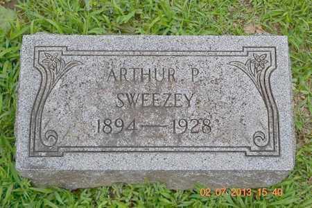 SWEEZEY, ARTHUR P. - Branch County, Michigan | ARTHUR P. SWEEZEY - Michigan Gravestone Photos
