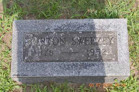 SWEEZEY, BURTON - Branch County, Michigan | BURTON SWEEZEY - Michigan Gravestone Photos