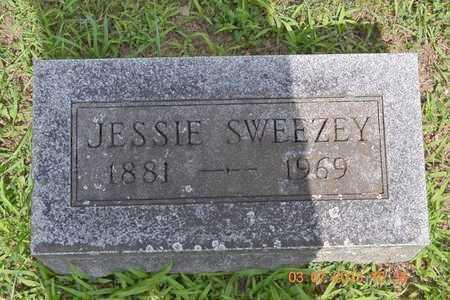 SWEEZEY, JESSIE - Branch County, Michigan   JESSIE SWEEZEY - Michigan Gravestone Photos
