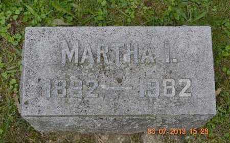 SWEEZEY, MARTHA I. - Branch County, Michigan   MARTHA I. SWEEZEY - Michigan Gravestone Photos