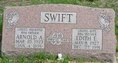 SWIFT, ARNOLD A. - Branch County, Michigan | ARNOLD A. SWIFT - Michigan Gravestone Photos