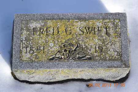 SWIFT, FRED G. - Branch County, Michigan | FRED G. SWIFT - Michigan Gravestone Photos
