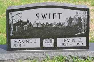SWIFT, IRVIN D. - Branch County, Michigan | IRVIN D. SWIFT - Michigan Gravestone Photos