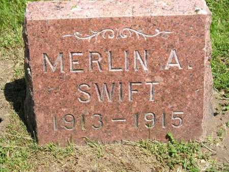 SWIFT, MERLIN A. - Branch County, Michigan | MERLIN A. SWIFT - Michigan Gravestone Photos
