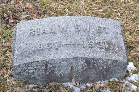SWIFT, RIAL W. - Branch County, Michigan | RIAL W. SWIFT - Michigan Gravestone Photos