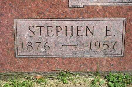 SWIFT, STEPHEN E. - Branch County, Michigan | STEPHEN E. SWIFT - Michigan Gravestone Photos