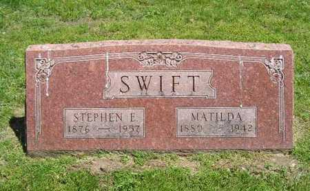 SWIFT, STEPHEN E. - Branch County, Michigan   STEPHEN E. SWIFT - Michigan Gravestone Photos