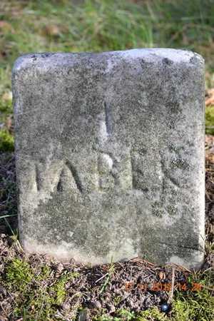 TABER, A. - Branch County, Michigan   A. TABER - Michigan Gravestone Photos