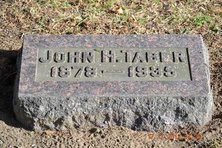 TABER, JOHN H. - Branch County, Michigan | JOHN H. TABER - Michigan Gravestone Photos