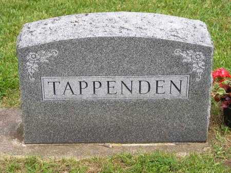 TAPPENDEN, FAMILY - Branch County, Michigan | FAMILY TAPPENDEN - Michigan Gravestone Photos