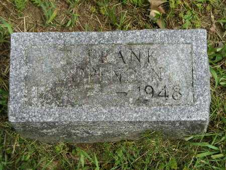 TAPPENDEN, T. FRANK - Branch County, Michigan | T. FRANK TAPPENDEN - Michigan Gravestone Photos