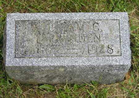 TAPPENDEN, WILLIAM C. - Branch County, Michigan   WILLIAM C. TAPPENDEN - Michigan Gravestone Photos