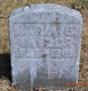 TAYLOR, MARIA B. - Branch County, Michigan | MARIA B. TAYLOR - Michigan Gravestone Photos