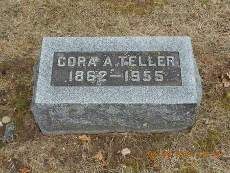 TELLER, CORA A. - Branch County, Michigan | CORA A. TELLER - Michigan Gravestone Photos