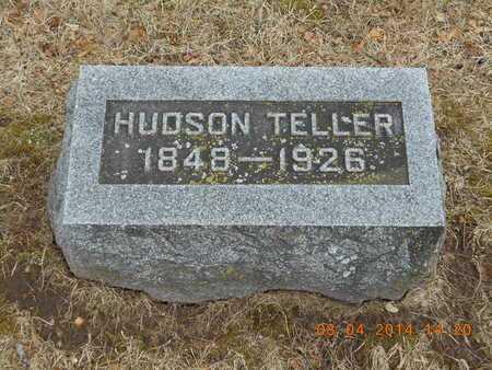 TELLER, HUDSON - Branch County, Michigan | HUDSON TELLER - Michigan Gravestone Photos