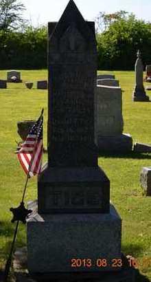 TICE, SUSAN M. - Branch County, Michigan   SUSAN M. TICE - Michigan Gravestone Photos
